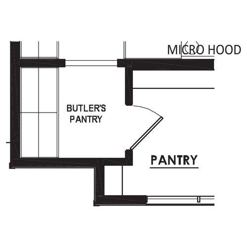 Optional Butler's Pantry
