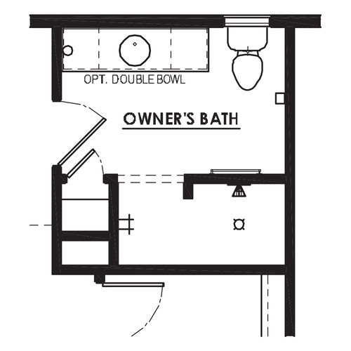 Optional Walk-In Shower