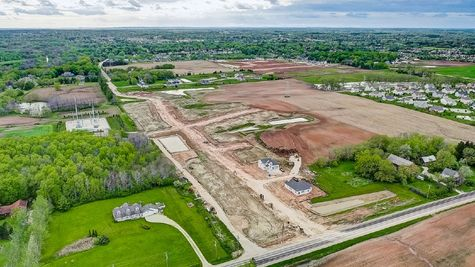 Homesites for new homes in Grafton WI
