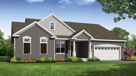 Savannah Classic Front Elevation Rendering