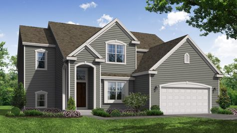 Birchwood Classic Front Elevation Rendering