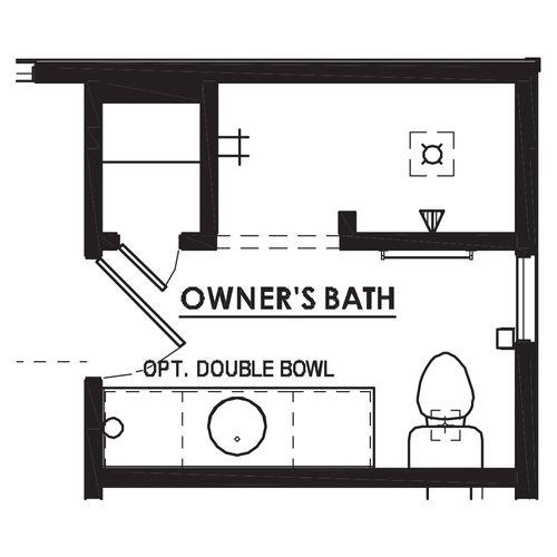 Optional Walk-In Shower