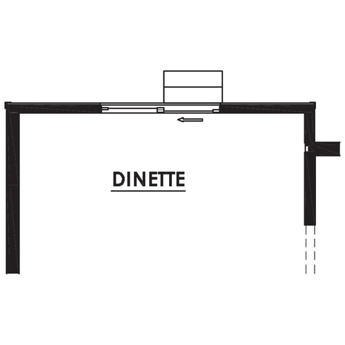 Optional 2' Dinette Bump