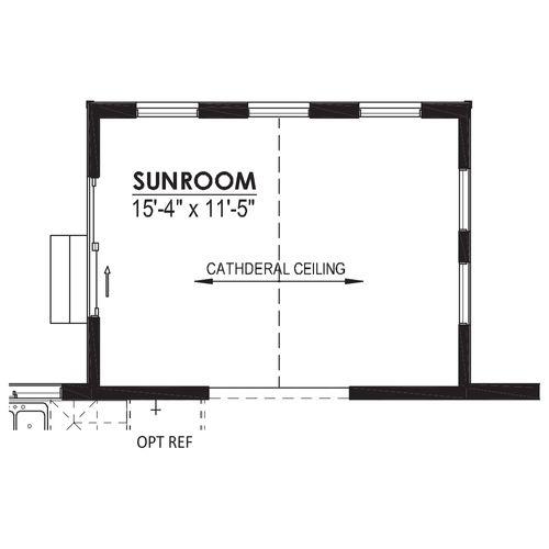 Optional Sunroom
