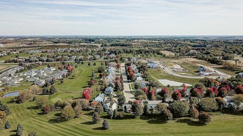Aerial View of Autumn Ridge Estates by Tim O'Brien Homes