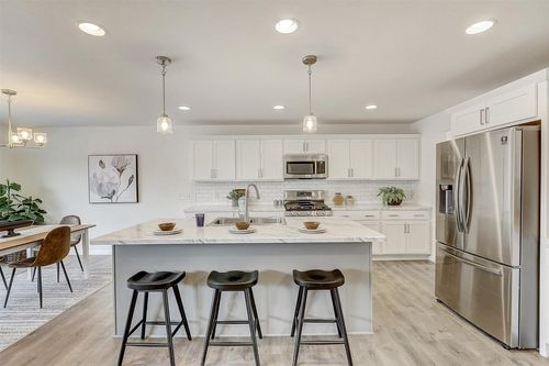 White kitchen in a Wisconsin home builders, Tim O'Brien
