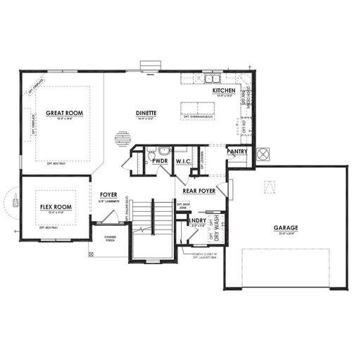 Canterbury First Floor Plan Drawing