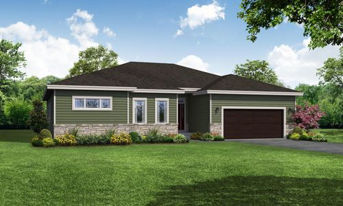Sage Prairie Front Elevation Rendering