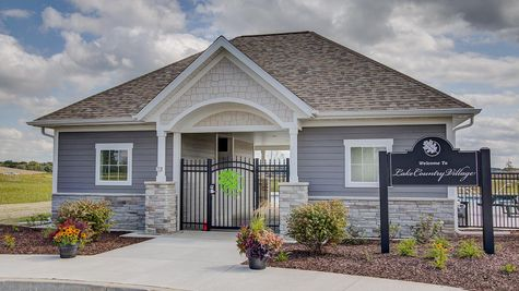 Neighborhood clubhouse for new homes in Summit