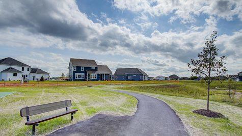 New homes in Summit WI near walking trails