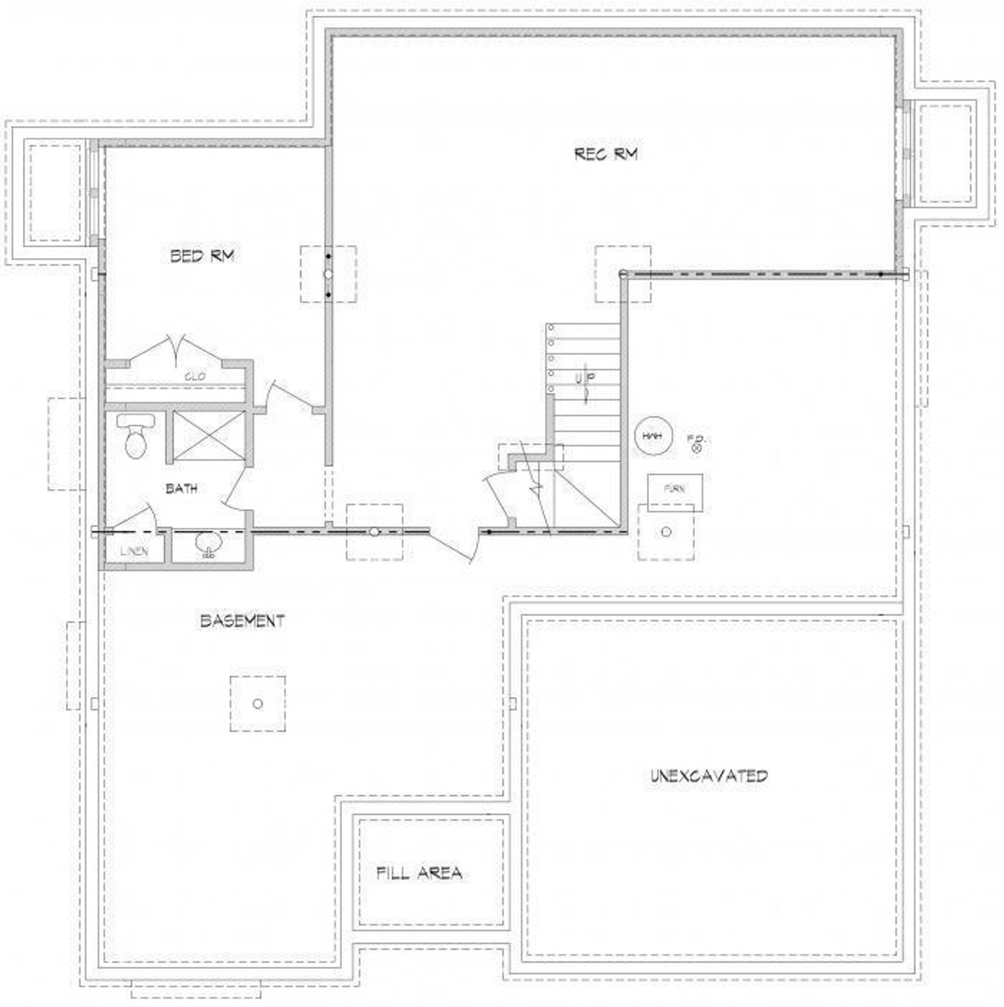 LP Brookwood lower level footprint