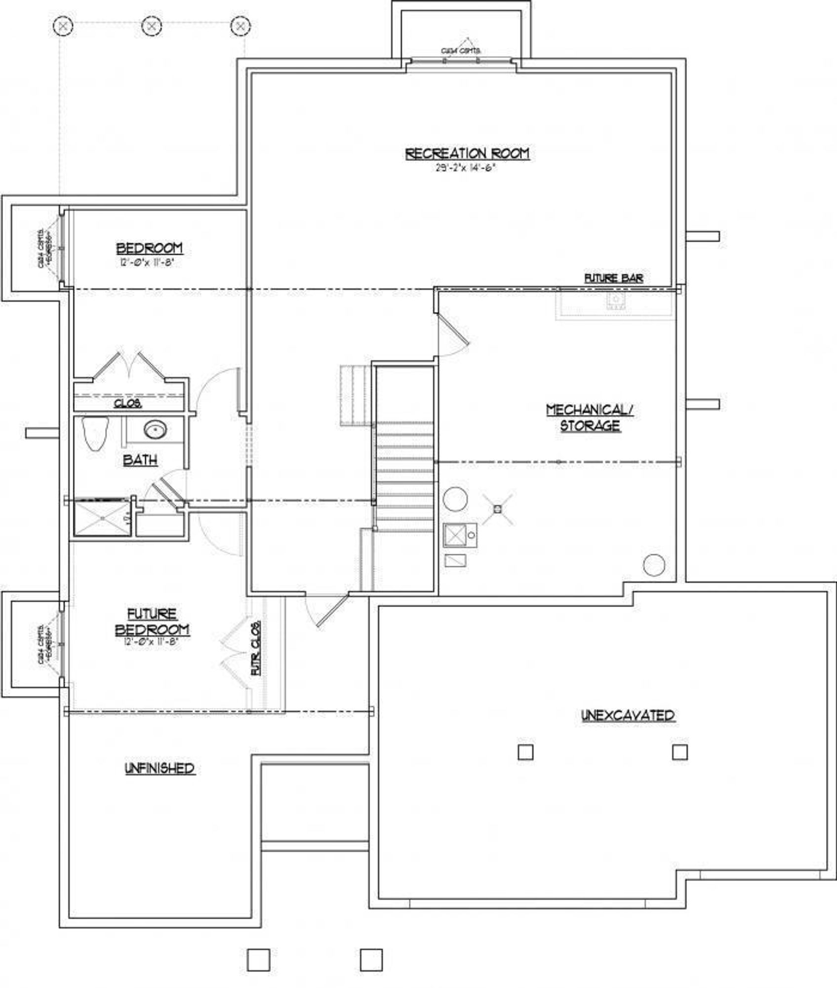 VHR Brookwood Lower Level footprint