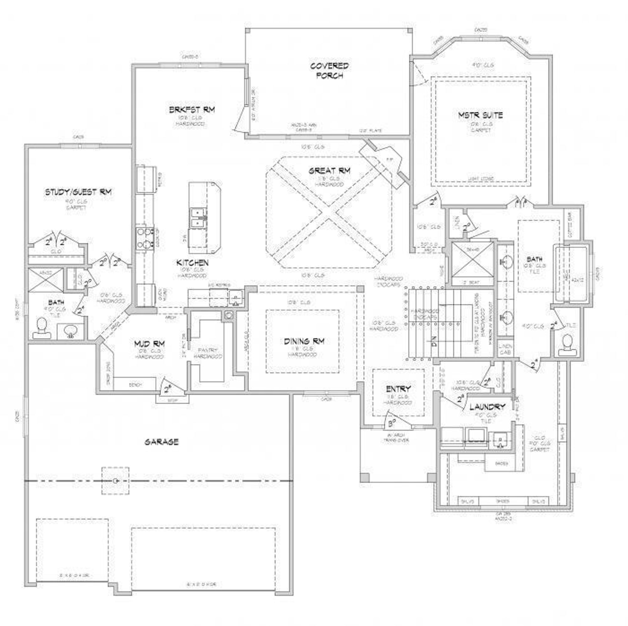 the the lockwood floor plan tom french construction