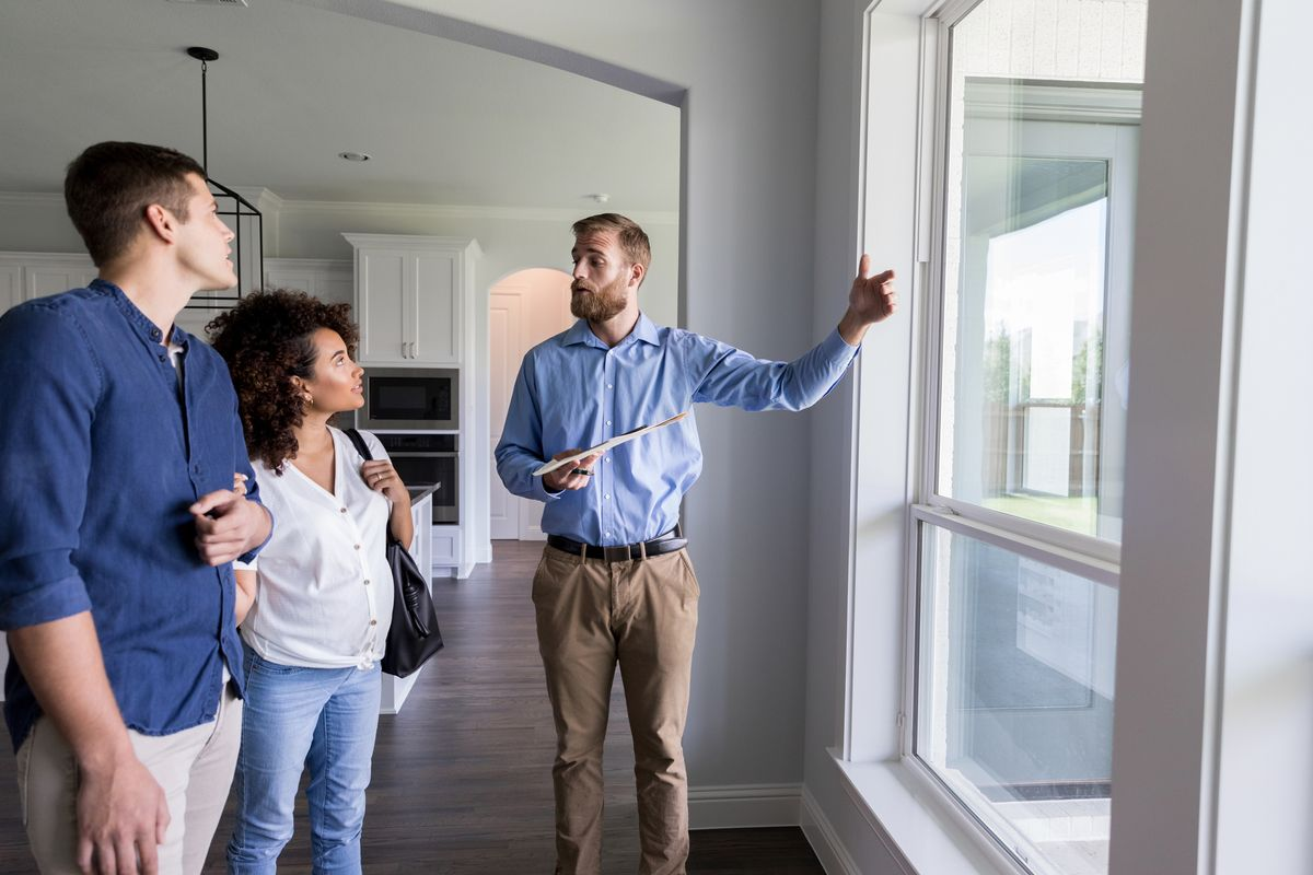 Realtor Gives Tour of New Construction Home