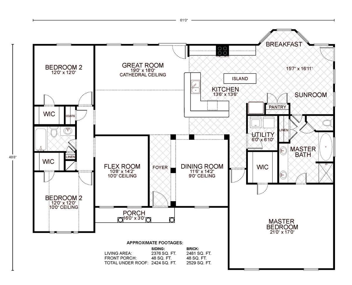 Amarillo Floor Plan