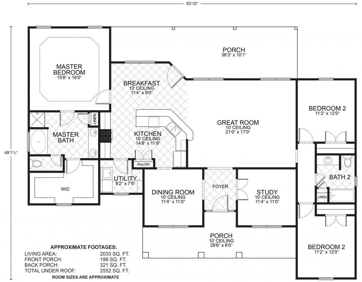 Kendall Floor Plan