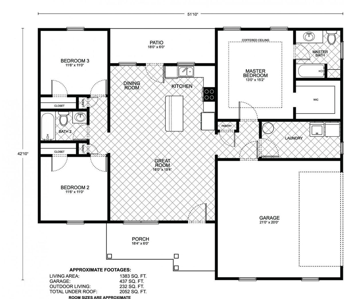 Driscoll Floor Plan