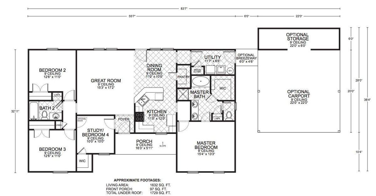 Durango Classic Floor Plan