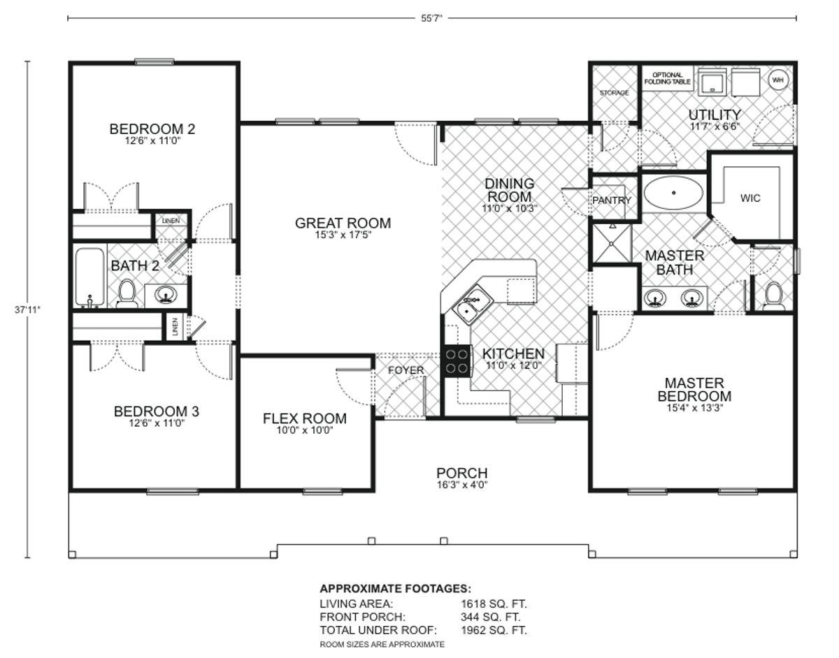 Durango B Floor Plan