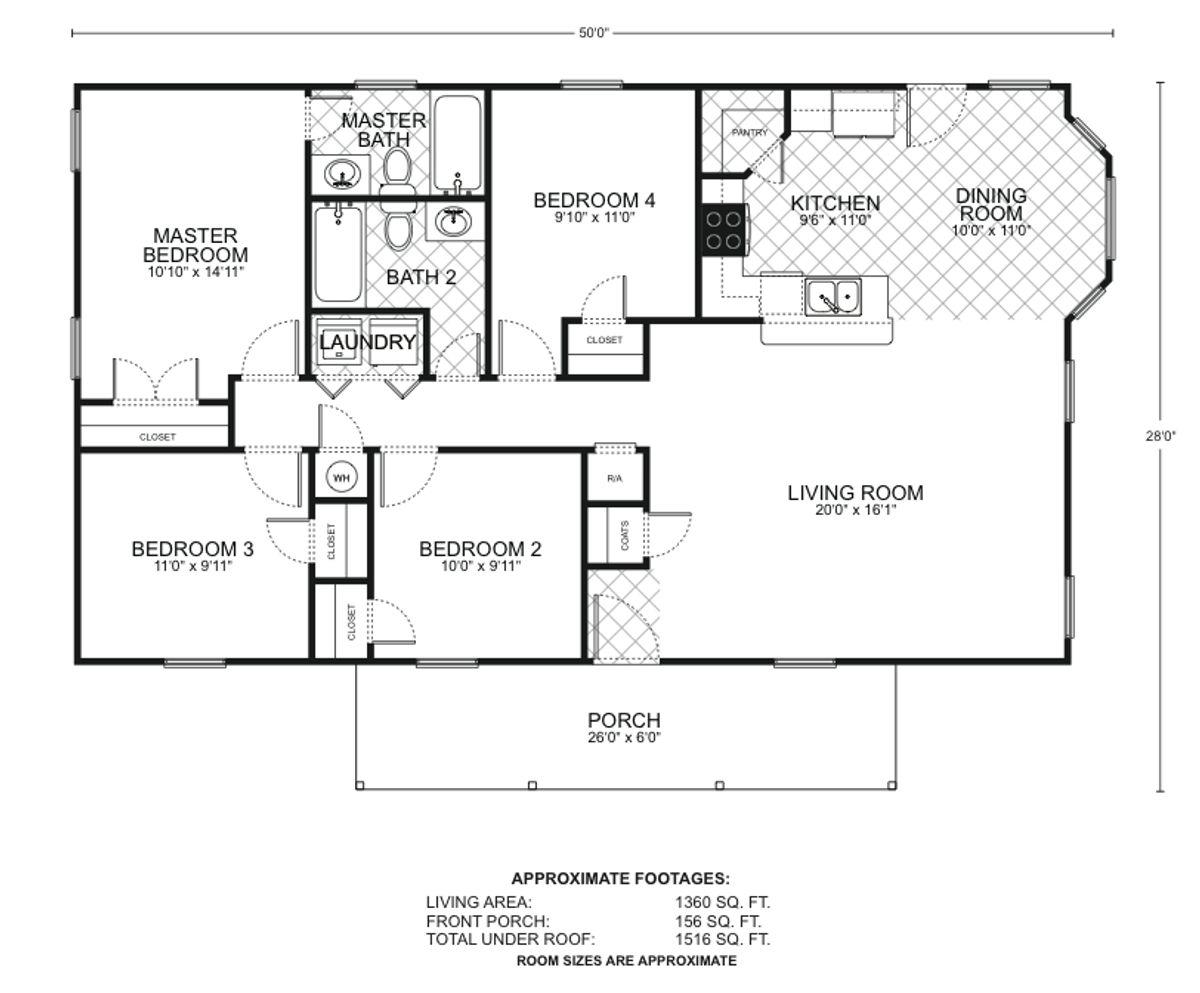 San Marcos C Floor Plan