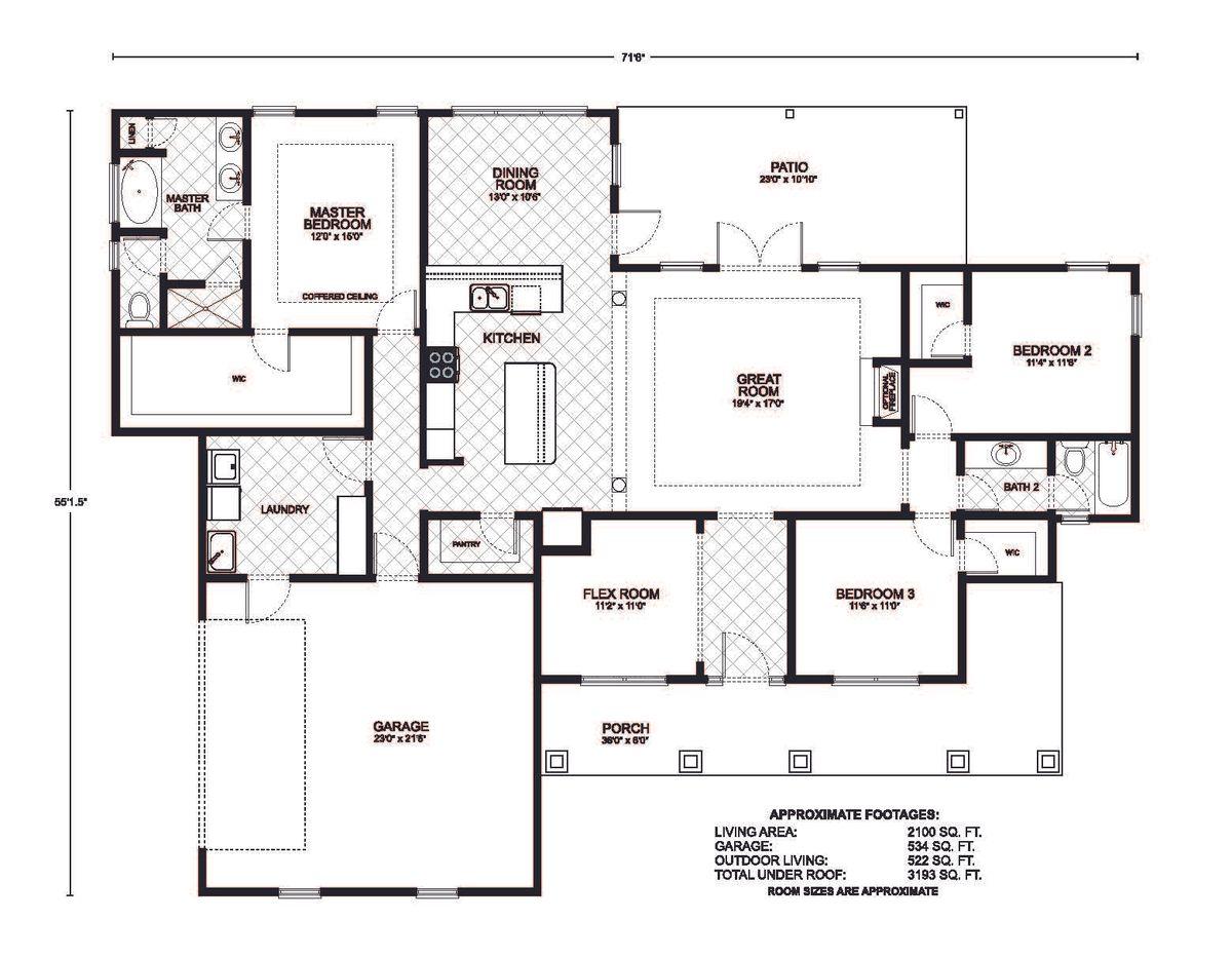Bronson Floor Plan