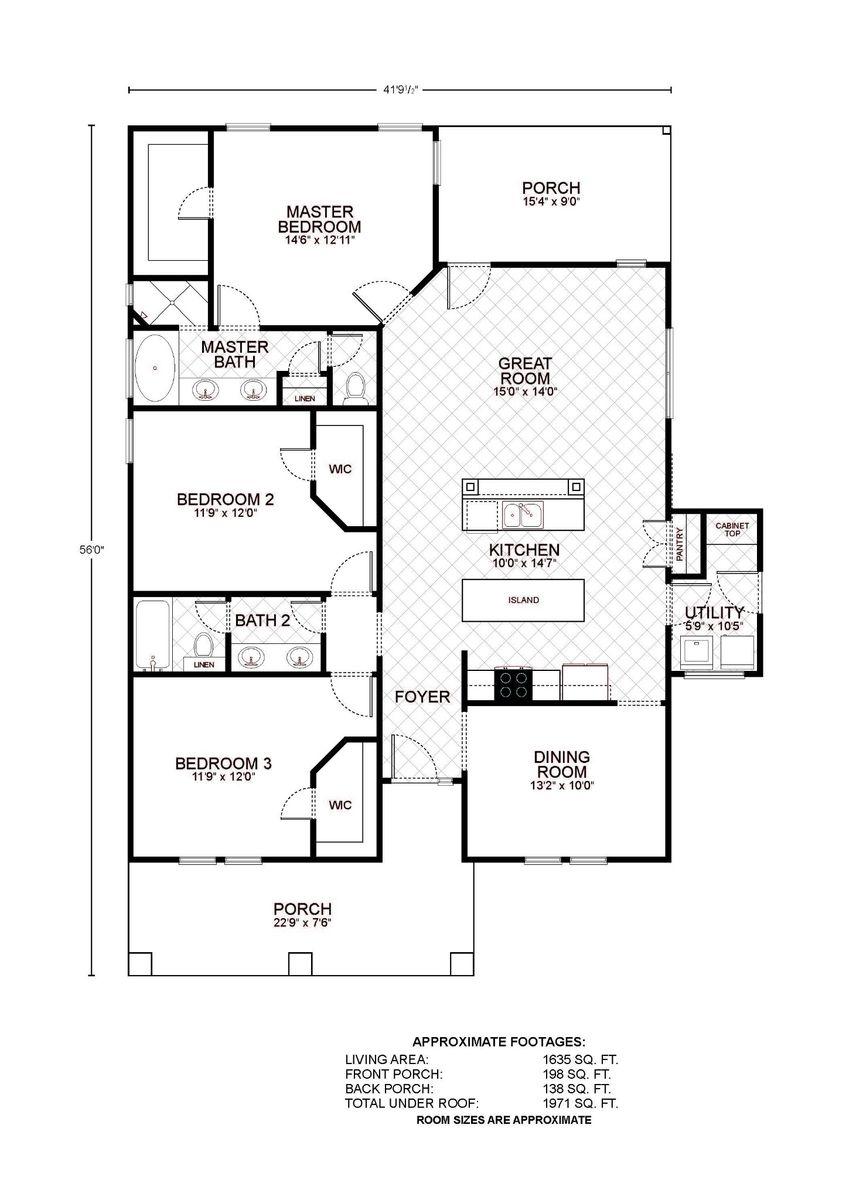 Amelia Floor Plan