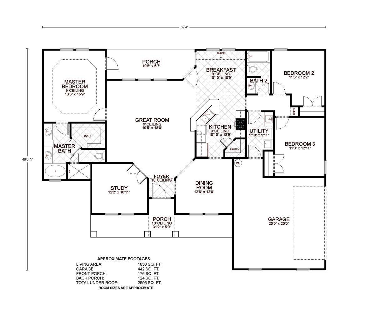 Driftwood C Floor Plan