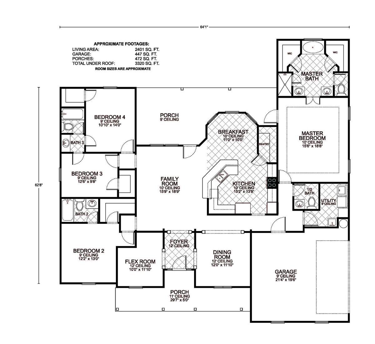 Lafayette B Floor Plan