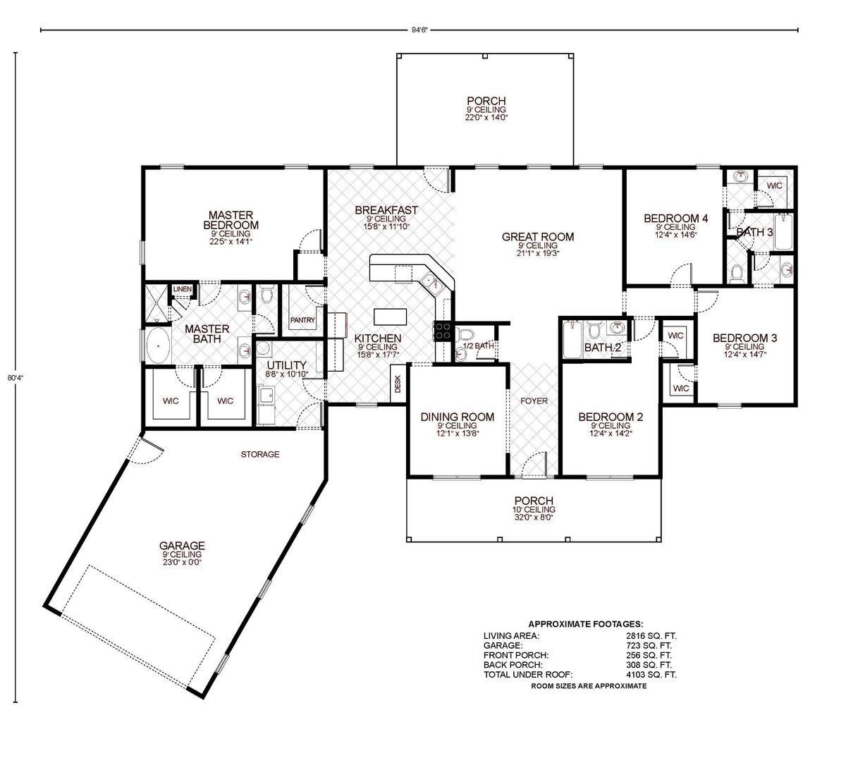 Adelaide Floor Plan