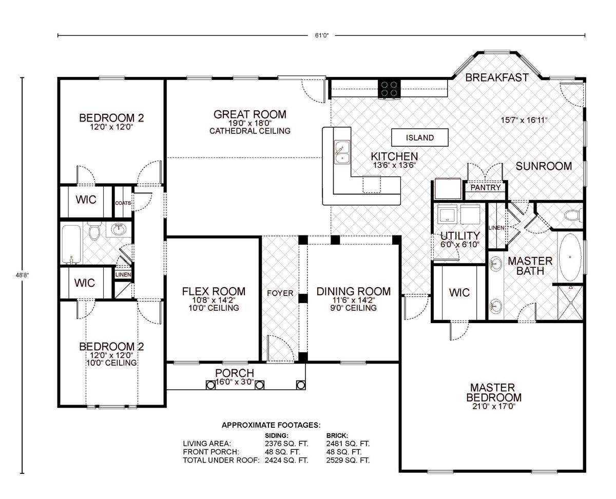Amarillo B Floor Plan