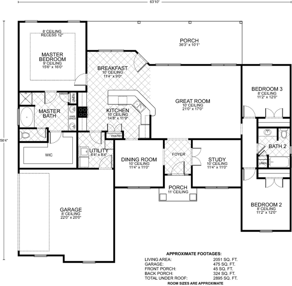 Hillsboro C Floor Plan