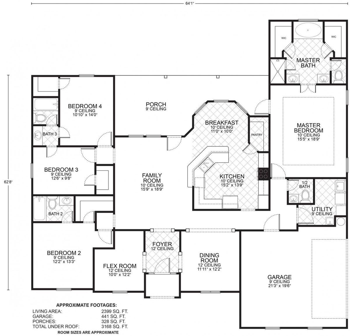 Lafayette Floor Plan