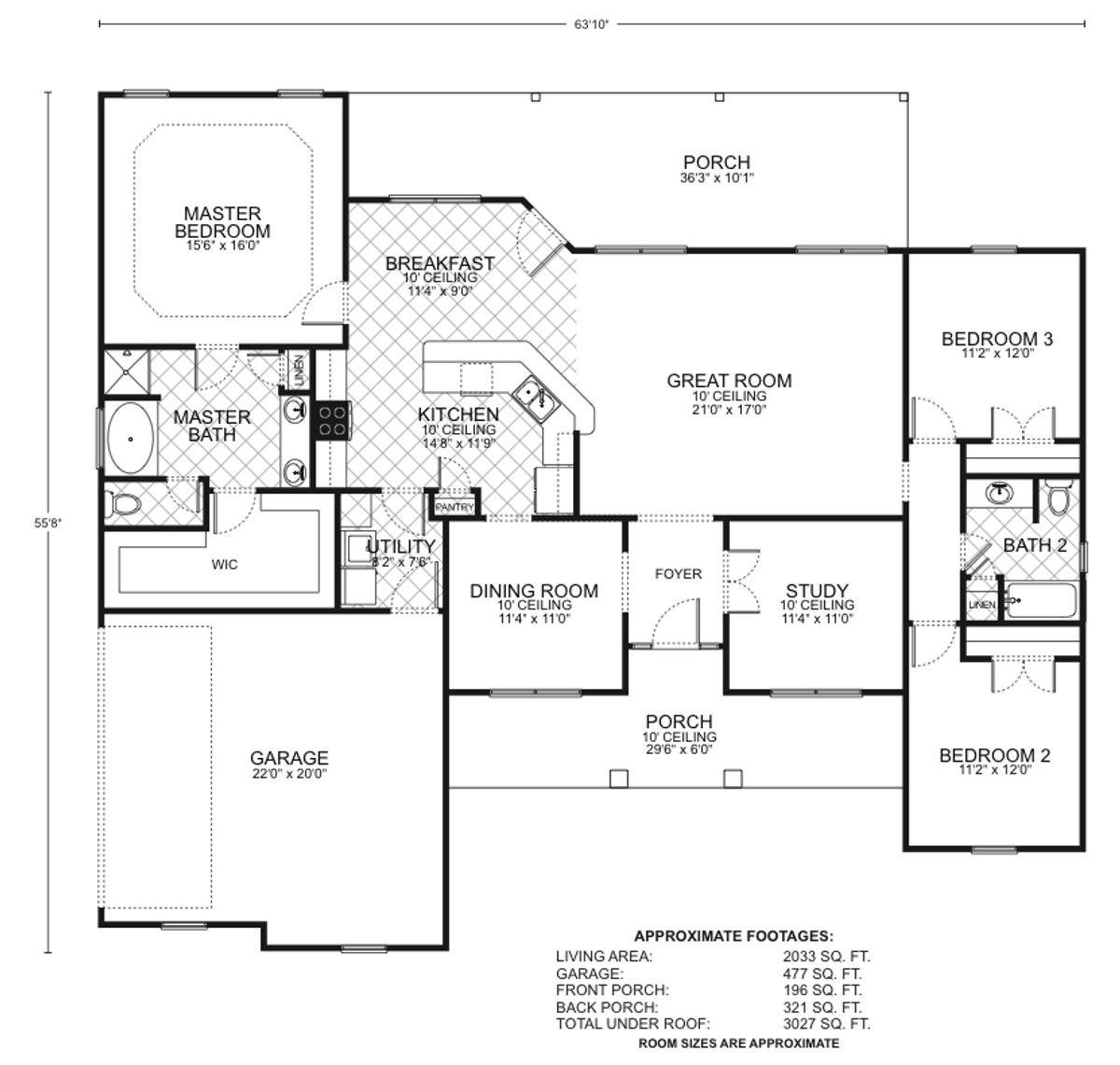 Hillsboro Floor Plan