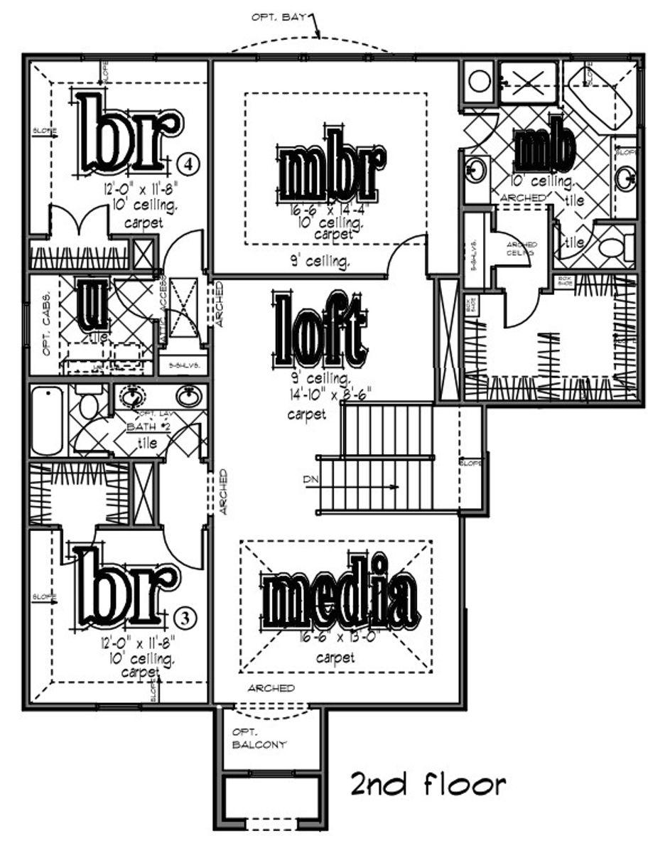 Bennington Second Floor