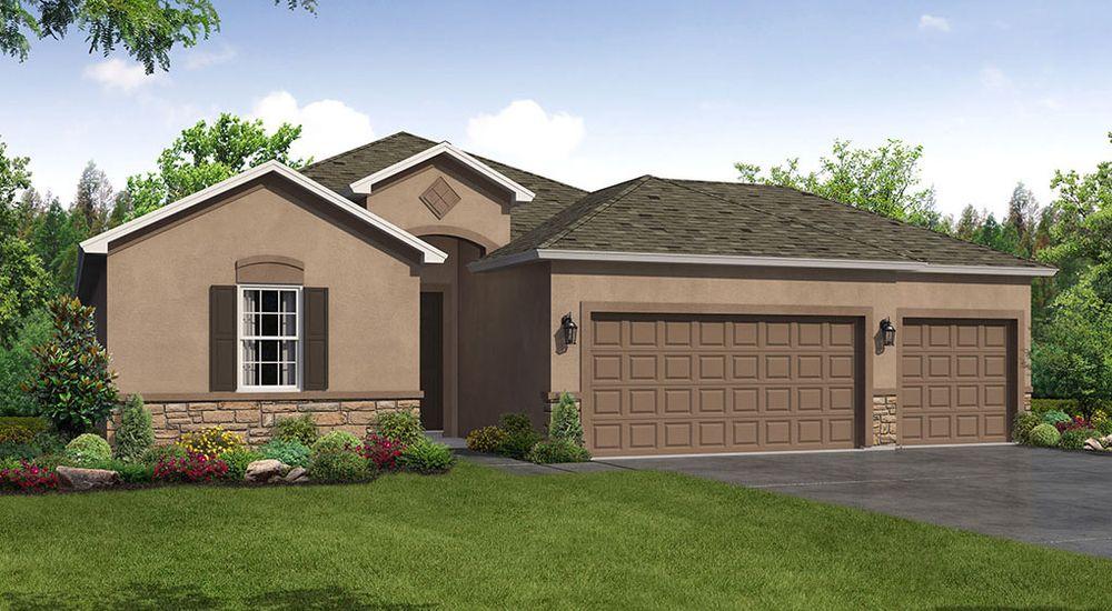 Sweetwater 3 Car Garage New Home Floor Plan William Ryan Homes